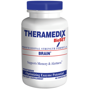 Brain, enzyme supplement designed to support cognitive function, memory, alertness, focus, vision, giving you a better overall bill of health.