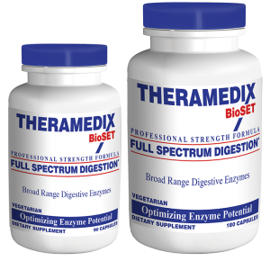 Full Spectrum Digestion supplement aids in digestion process, resulting in less constipation, diarrhea, stomach pain caused by digestion.
