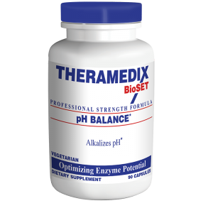 pH Balance enzyme and herbal supplement assists in neutralizing acids, balancing internal pH for health and wellness.