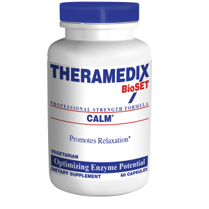 Calm enzyme supplement formulated to ease occasional nervousness and tension, helping promote relaxation and better overall health.